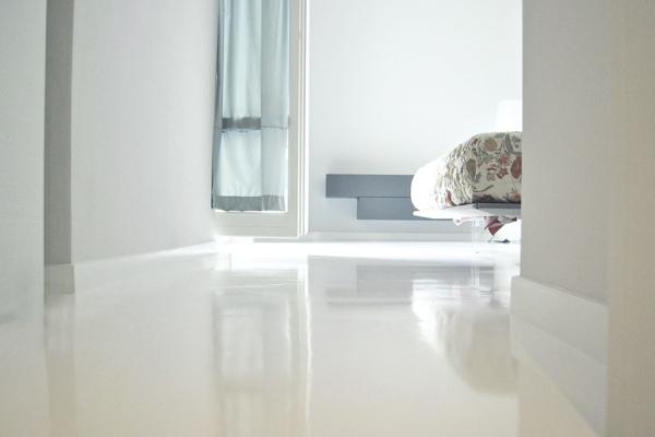 Qu me aconsejan microcemento o cemento pulido habitissimo - Suelo de microcemento pulido ...