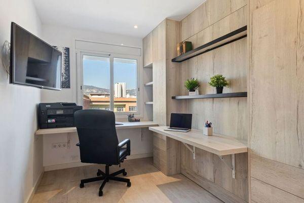 ¿Cómo cambiar una oficina a dormitorio?