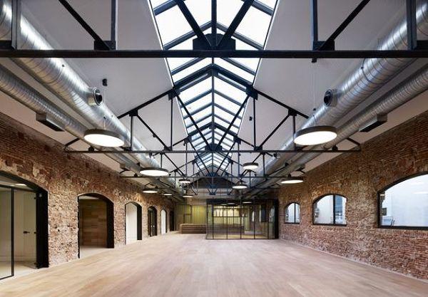 ¿Los techos que se colocan en naves industriales que dejan pasar la luz?