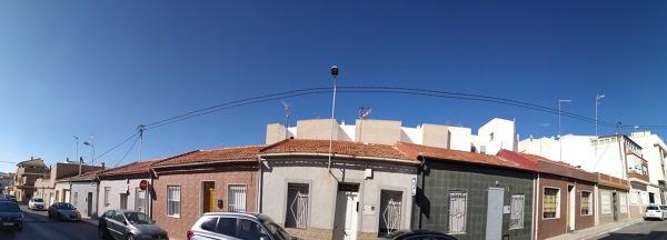 Duda de cableado por encima de la casa