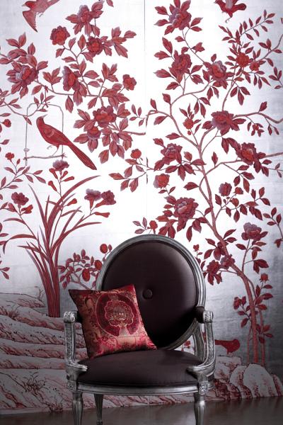 papel decorativo de pared