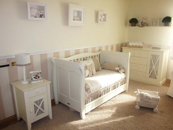 Decoraci n habitaci n infantil habitissimo - Habitaciones infantiles pintadas a rayas ...