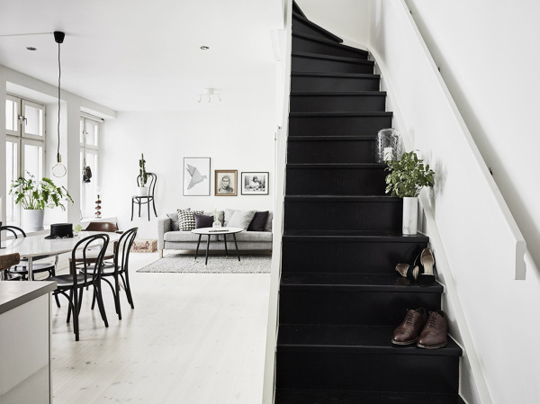 Se pueden pintar los suelos de las escalera cuando son de for Escaleras de madera para pintor precios