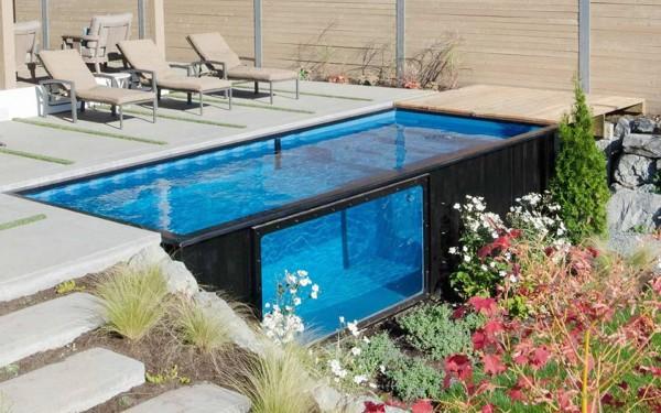 ¿Qué rango de precio tendría una piscina contenedor?