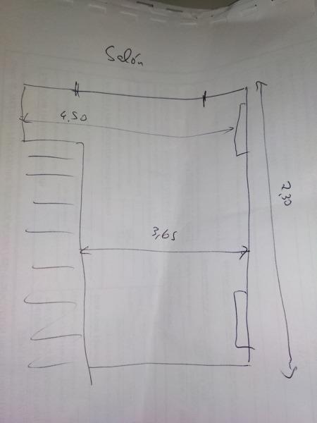 ¿Cómo hacer un cerramiento de escaleras al salón?