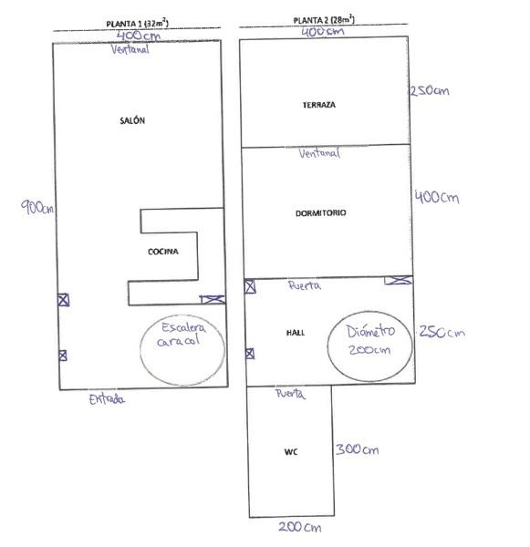 ¿Podrían ayudarme con la distribución de mi vivienda?