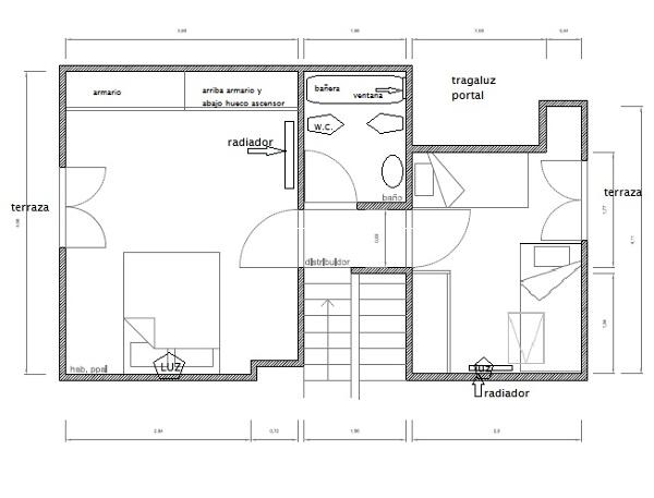 ¿Cómo puedo reformar y distribuir una planta de mi duplex?