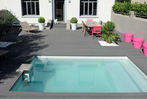 Posibilidad de piscina en terraza peque a habitissimo - Piscina prefabricada pequena ...