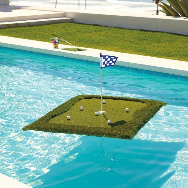 ¿Dónde comprar el pasto acuático para golf?