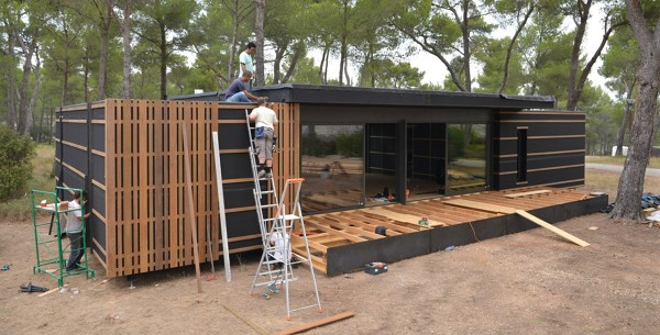 Cu nto cuesta una casa prefabricada habitissimo - Cuanto cuesta el material para construir una casa ...