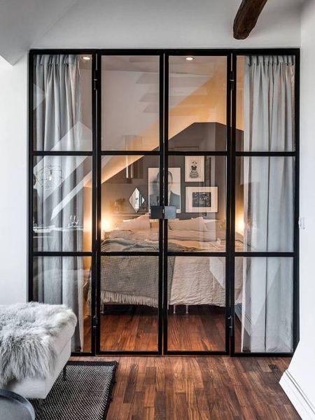 Cu nto me podr a costar una puerta como esta de cristal y - Cristal puerta salon ...