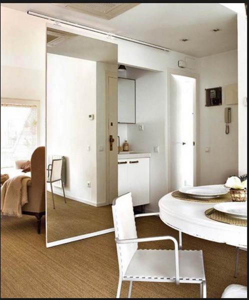 Cu nto costar a una instalar una puerta espejo corredera - Como instalar una puerta corredera ...