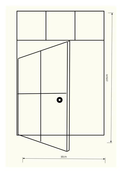 ¿Cuánto me podría costar una puerta de cristal y metal?