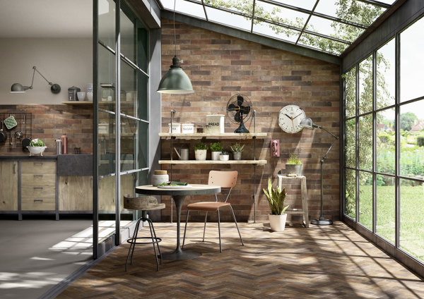 Separar la cocina y el comedor con puertas correderas de Puertas corredizas hierro