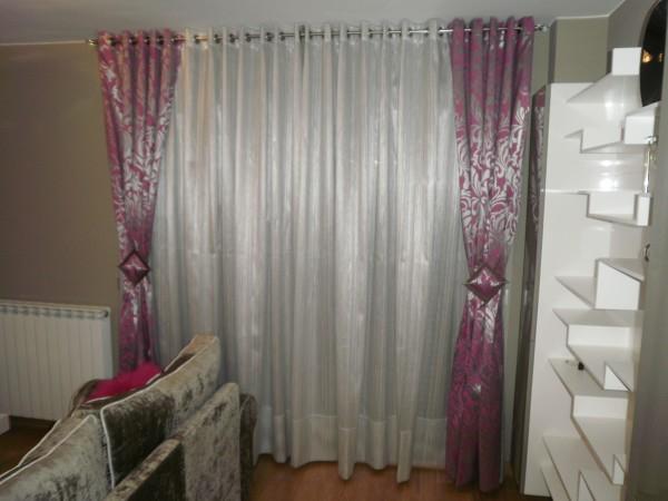 Alguien sabe el tipo de confecci n de esta cortina for Cortinas tipo visillo