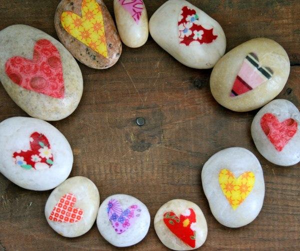 ¿Qué pinturas se utilizan para pintar piedras?
