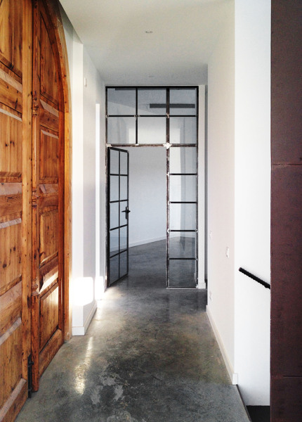 Qu precio aproximado tiene la puerta de hierro forjado for Cristales para puertas de interior precios