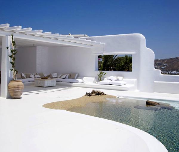¿Qué resultado dan las piscinas de arena?