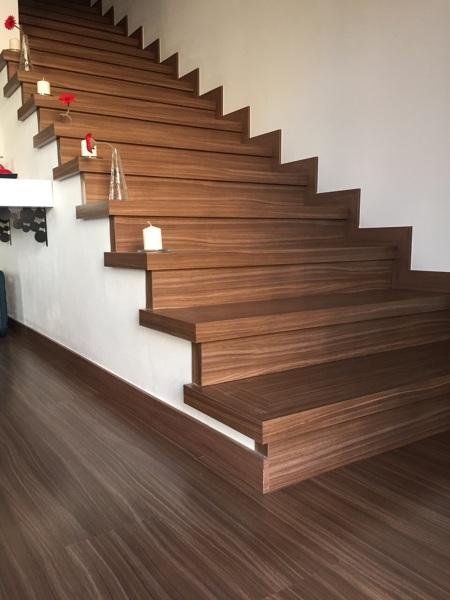 qu tipo de madera se ha utilizado - Escaleras Madera