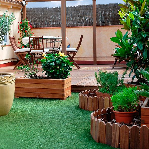 ¿Cuánto me costaría poner cesped artificial en una terraza?