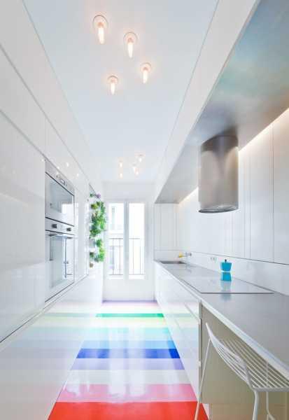 ¿Qué tipo de suelo es el de la cocina?
