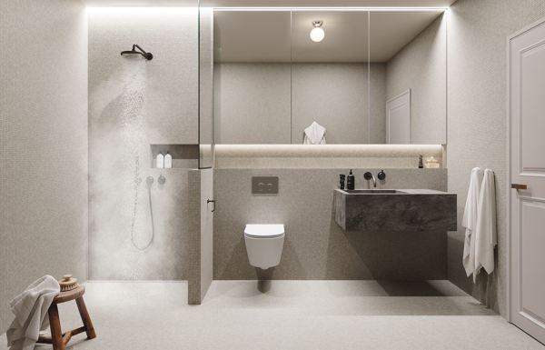 ¿qué Tipo De Revestimiento Se Ha Utilizado En El Baño?