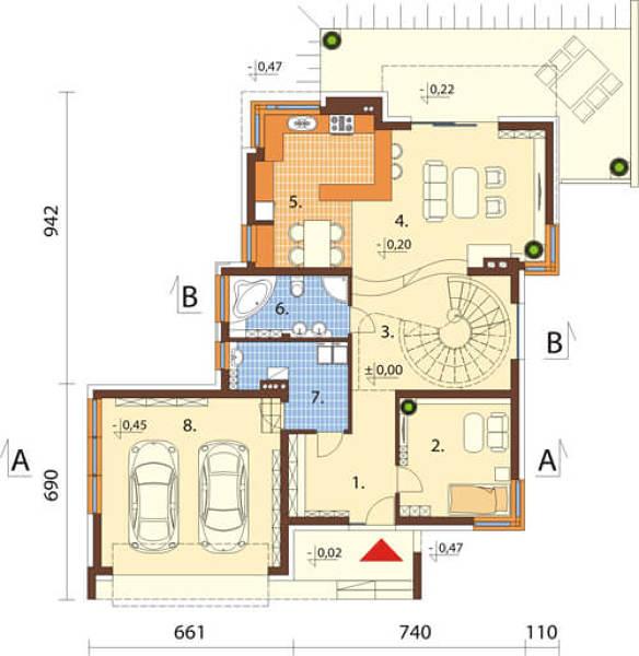 ¿Qué precio orientativo tendría la construcción de esta casa?