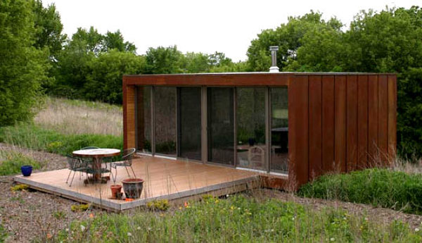 ¿Se pueden unir más módulos en una casa como esta?