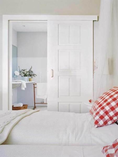 Poner puerta corredera con marco para q la puerta quede a - Como poner puertas correderas ...