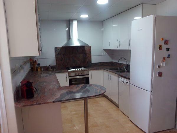¿Qué material es el de esta cocina?