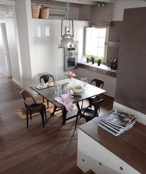 qu tipo de mesa es mejor para una cocina peque a