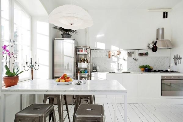 Dada la condensación de humedad ¿cuál es el techo ideal para una cocina pequeña?