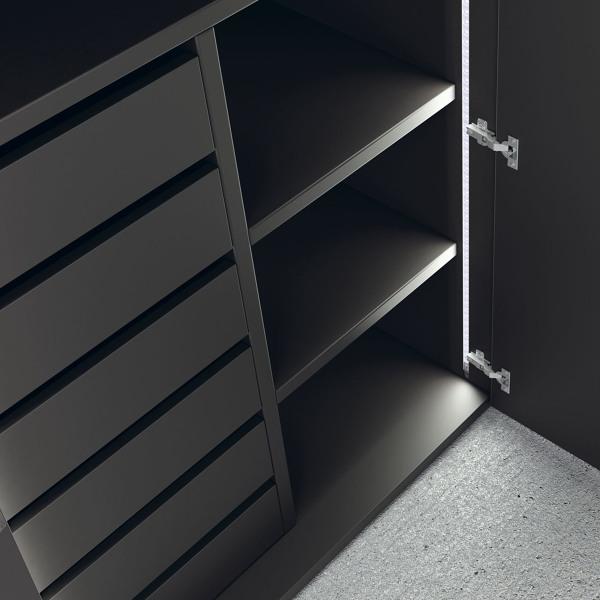 Presupuesto forrar armario empotrado online habitissimo - Vestir armarios por dentro ...