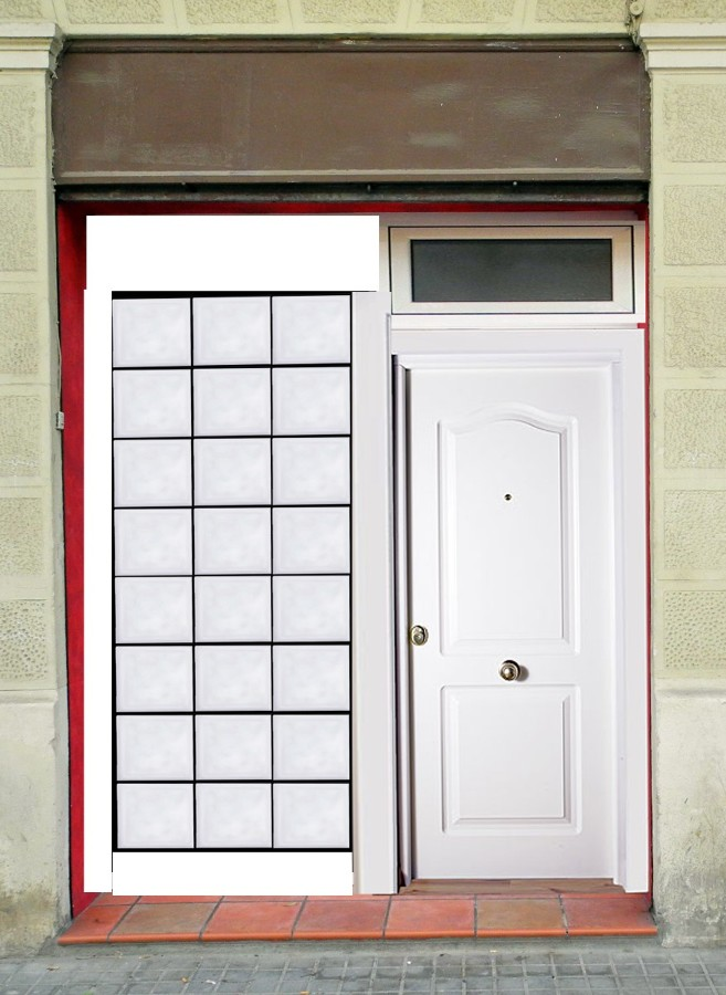 Hacer muro de paves con puerta para exterior barcelona - Pared de paves ...