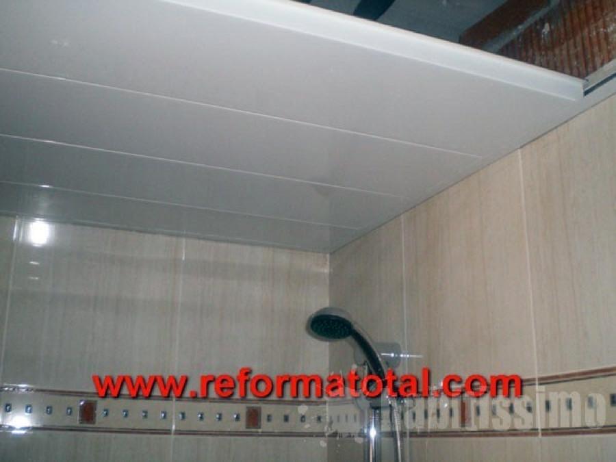 Material techo decorativo de lamas en aluminio ba o - Material de bano ...