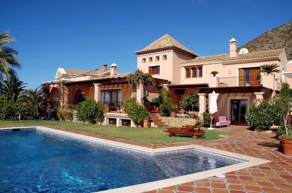 Villa chalet semi rustico marbella m laga habitissimo - Casas de lujo en marbella ...