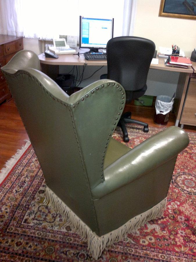 Tapizar sill n orejero bilbao vizcaya habitissimo - Precio tapizar sillon orejero ...