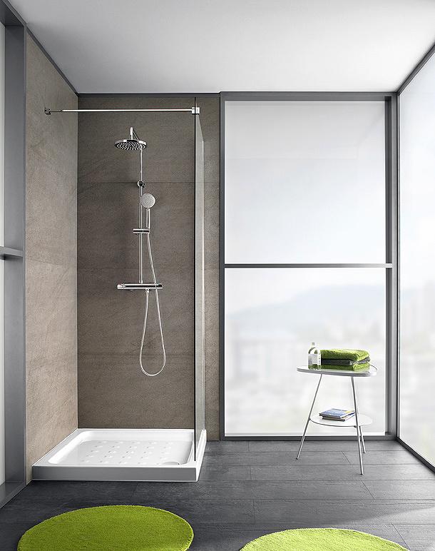 Instalar mampara de ducha con cristal fijo valencia - Cristal fijo para ducha ...