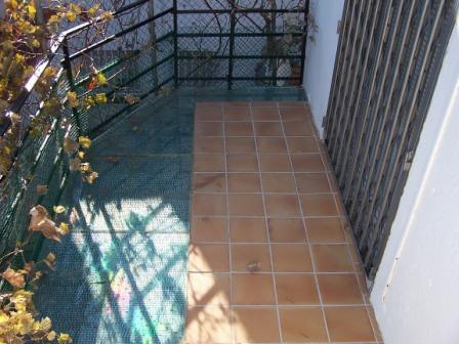 terraza exterior con suelo cristal vidrio pisable miami