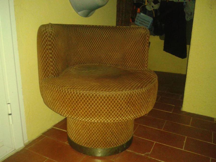 Re tapizar butaca de los a os 70 y sill n de bicicleta de - Precio tapizar butaca ...