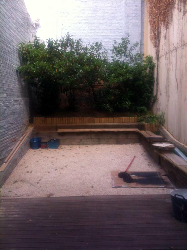 Reforma y decoraci n patio interior comercio sabadell - Decorar un patio interior ...