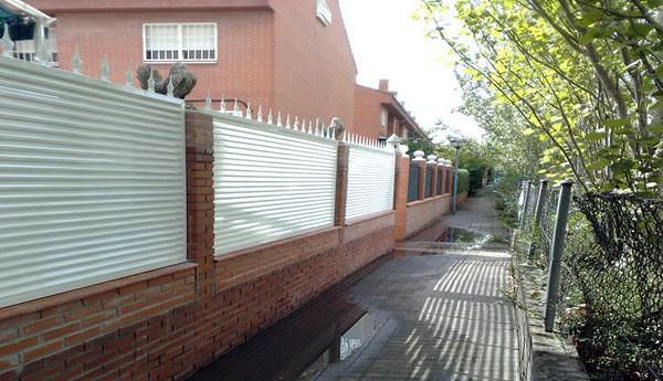 Hacer valla de acero para parcela villa del prado - Vallas para casas ...