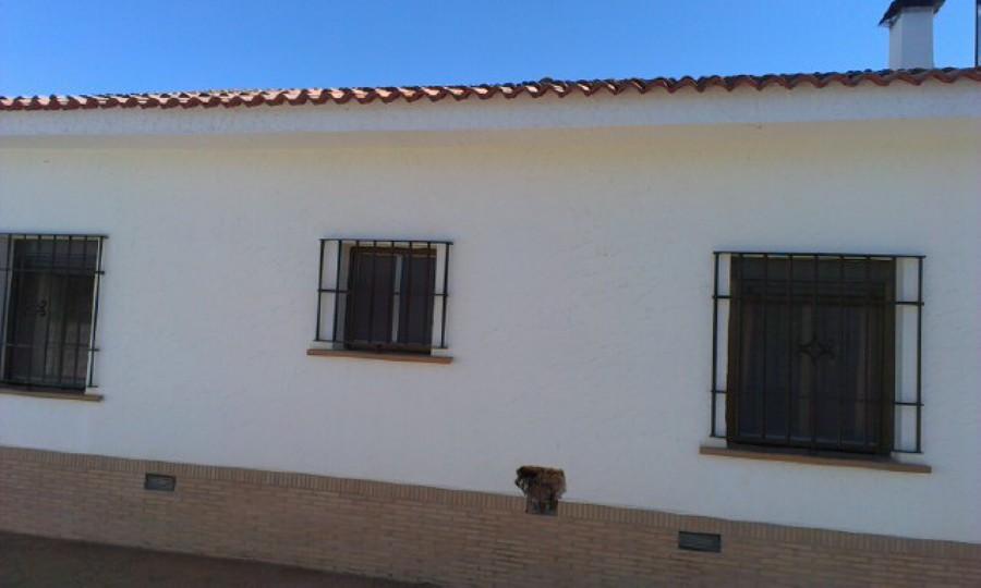 Pintar exterior de casa de campo gibraleon huelva - Presupuesto pintar casa ...