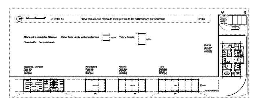 5 edificios en prefabricado para sevilla otros m dulos - Precio modulos prefabricados ...