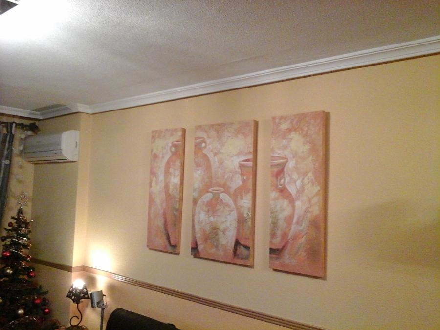 Quitar gotele y pintar en pintura pl stica torrej n de - Quitar gotele precio ...