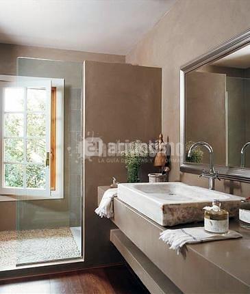 Reformar ba o y poner paredes y ducha de microcemento - Precio del microcemento ...