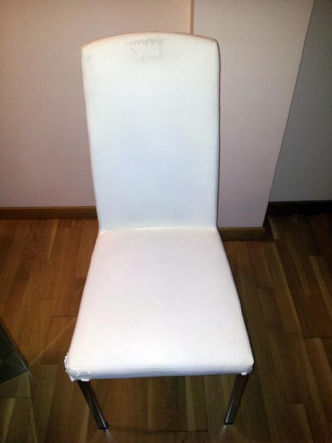 Tapizar 4 sillas comedor terrassa barcelona habitissimo - Presupuesto tapizar sillas ...
