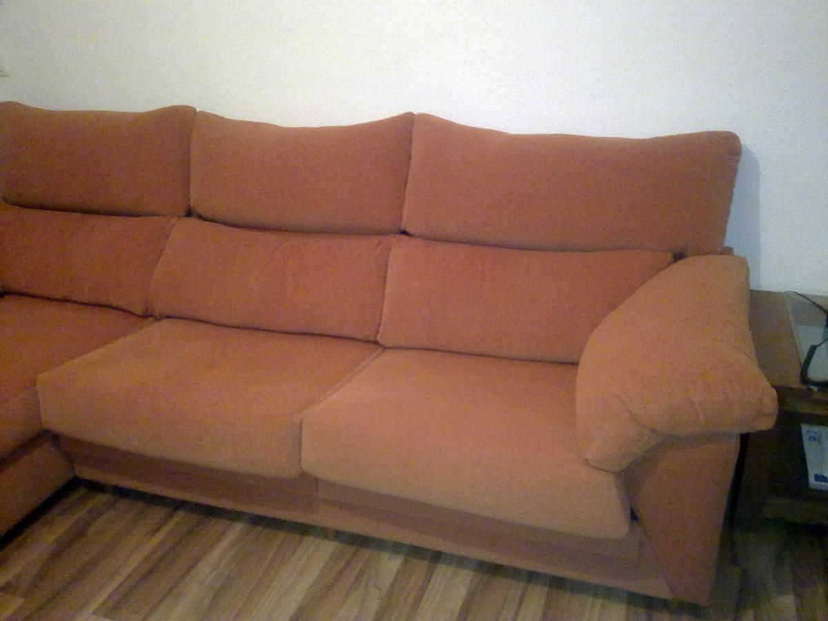Tapizar un sof de tres plazas con cheslong torremolinos for Cheslong dos plazas