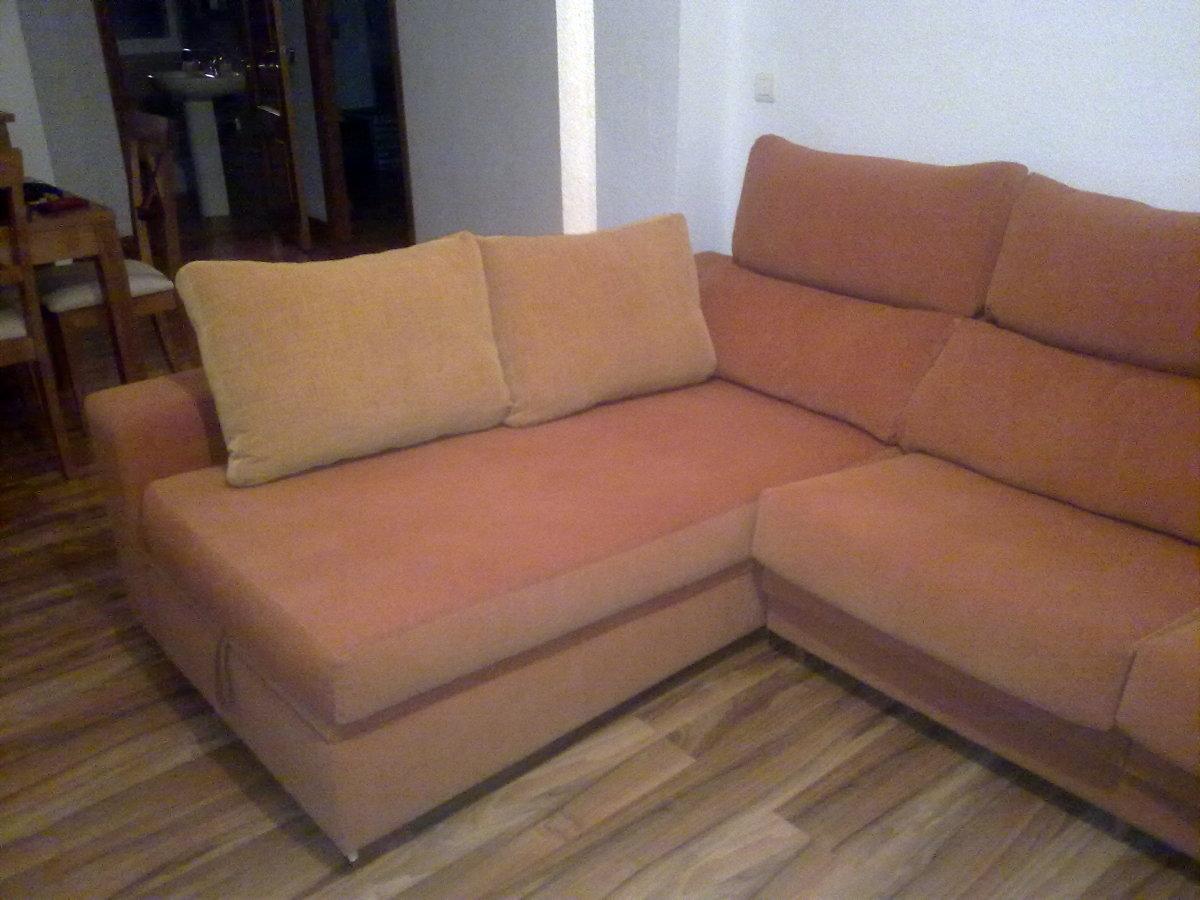 tapizar un sof de tres plazas con cheslong torremolinos