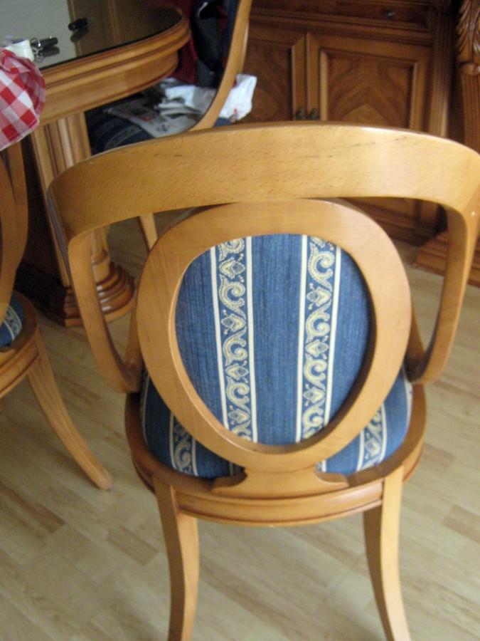 Tapizar 6 sillas valencia valencia habitissimo - Presupuesto tapizar sillas ...